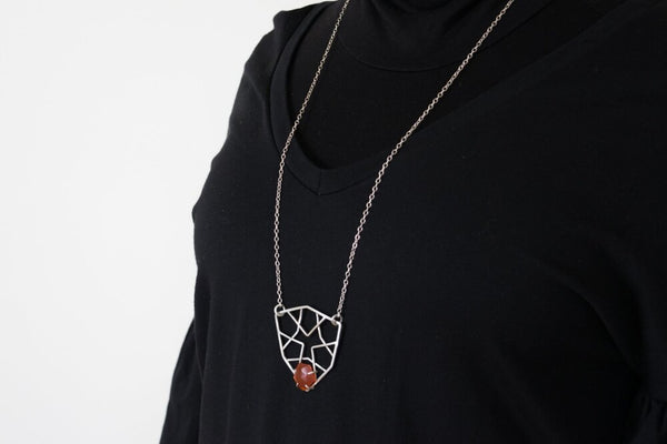 Hexagon Lattice Necklace