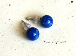 Sodalite 8mm Stud Earrings