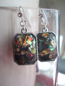 Opal in Midnight Sky Earrings