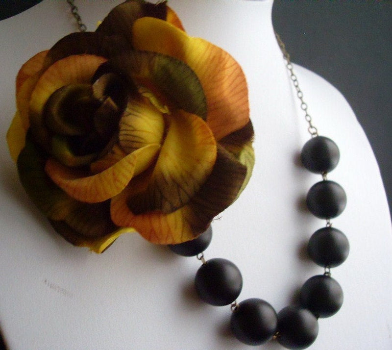 Fall Autumn Necklace