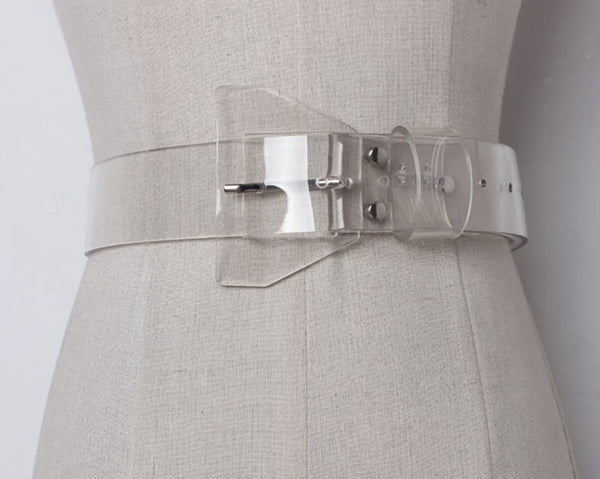 Simply Stylish – PVC waist belt