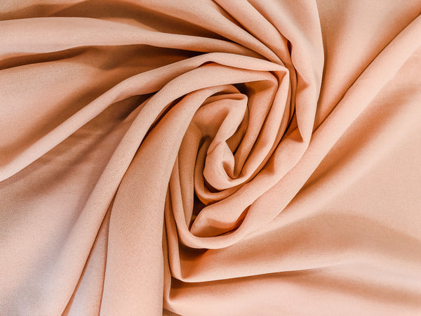 Lux Chiffon Scarf - Light Blush