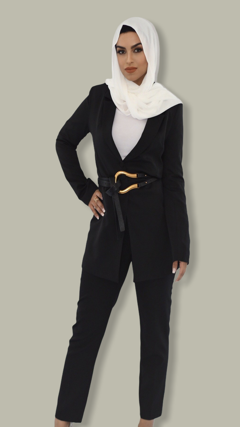 Alanoor Signature Suit - Black
