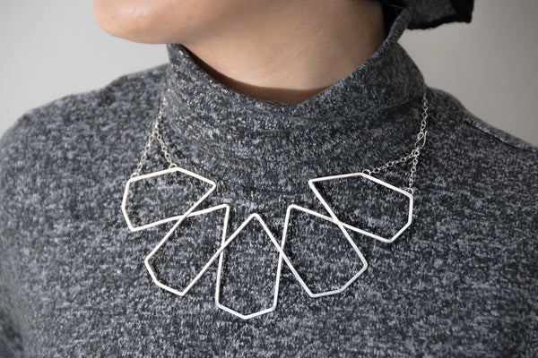 Penrosette Collar Statement Necklace