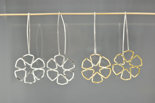 Flower Tesselation Earrings