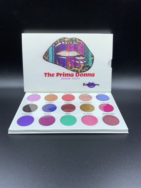 The Prima Donna eyeshadow palette mini