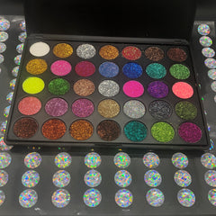 The Glitter Galaxy Palette