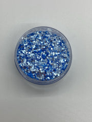 Light Blue Galaxy Glitter
