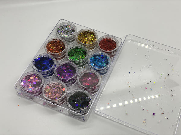 Rainbow Galaxy set of 12