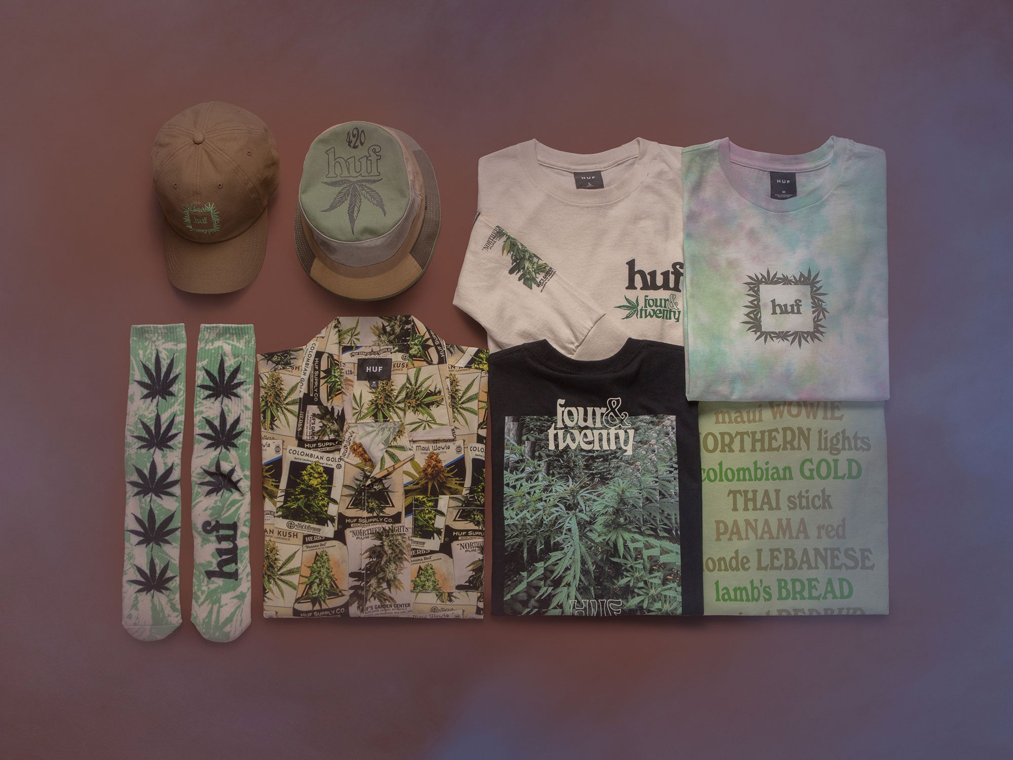 HUF Worldwide 420 Collection Overview