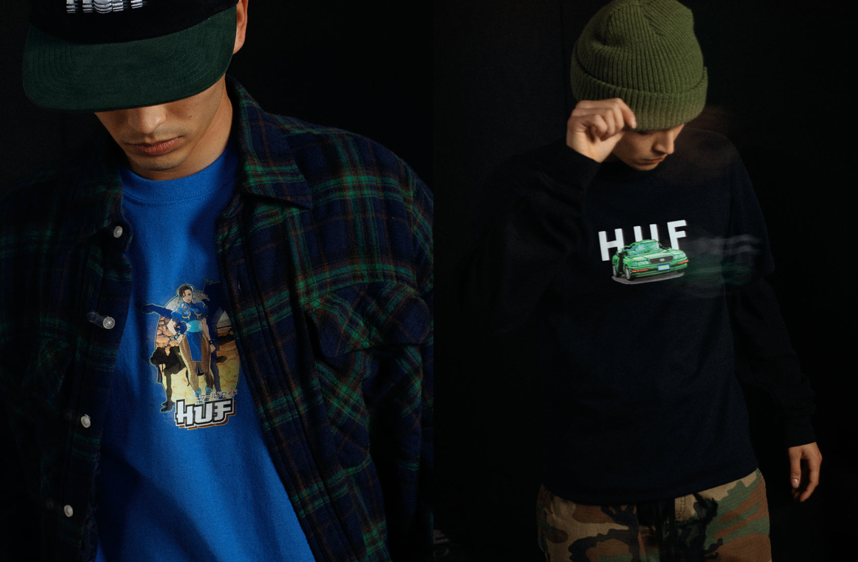 HUF Worldwide x Street Fighter Preview