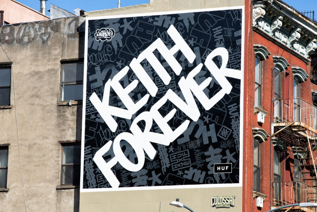 HUF Haze Keith Forever Mural Product