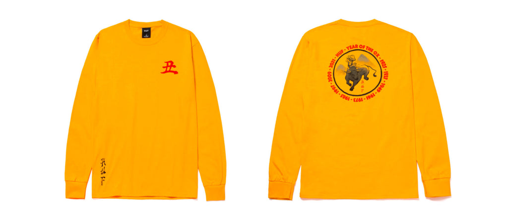 HUF Worldwide Year of the Ox Collection Preview