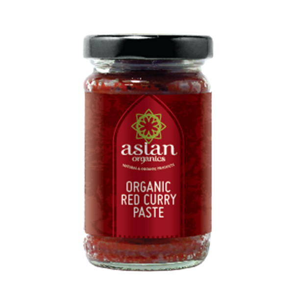 Asian Organics Red Curry Paste - Delidrop