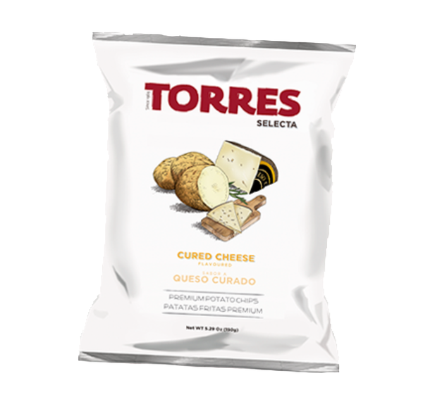 Torres Cured Cheese Chips - Delidrop