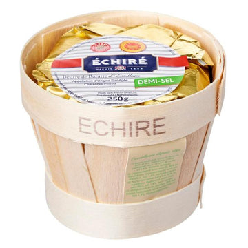 Echire AOP Butter in Basket Salted