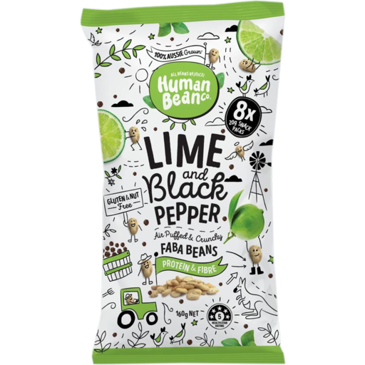 Human Bean Lime and Black Pepper - Delidrop