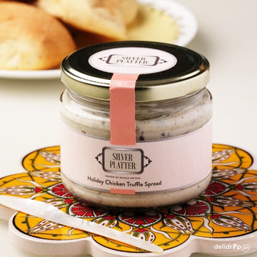 Holiday Chicken Truffle Spread