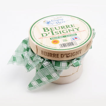 Isigny Ste Mere Salted Butter in Basket