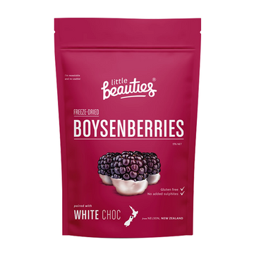 Little Beauties Boysenberries with White Choco