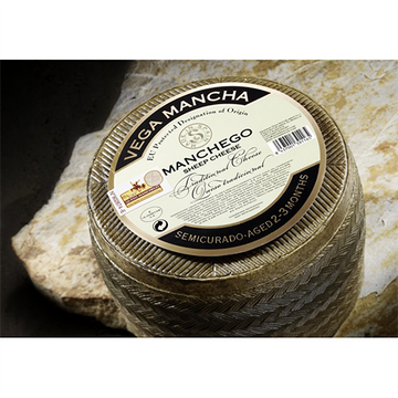 Manchego Sheep Cheese Semicurado