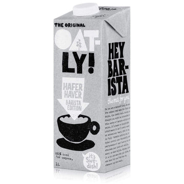Oatly! Oat Milk Barista Edition