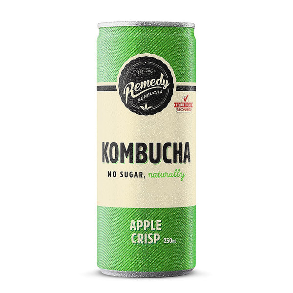 Remedy Organic Kombucha Apple Crisp - Delidrop