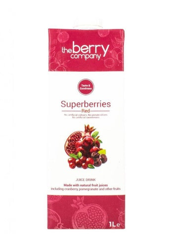 The Berry Company Superberries Red Juice