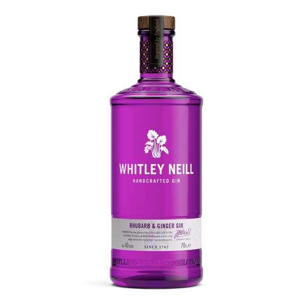 Whitley Neill Rhubarb & Ginger Gin - Delidrop