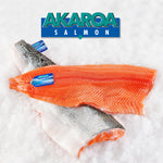 Akaroa King Salmon Fillet Skin On *Pre-order* - Delidrop