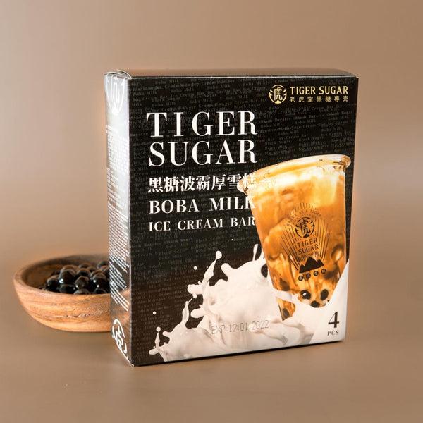 Tiger Sugar Boba Milk Ice Cream Bar (4pcs) - Delidrop