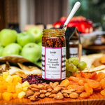 Figs and Almonds with Truffle Honey Cheese Pairing Jam - Delidrop