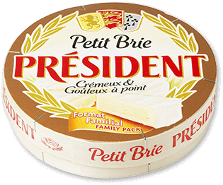 President Petit Brie Cheese - Delidrop