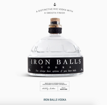Iron Ball Vodka