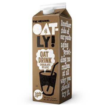 Oatly! Chocolate Oat Milk