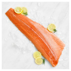 Salmon Fillet Trimmed
