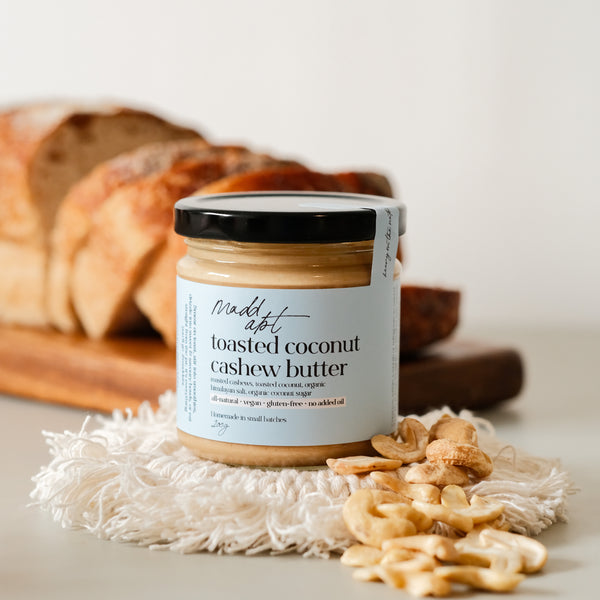 Toasted Coconut Cashew Butter - Delidrop