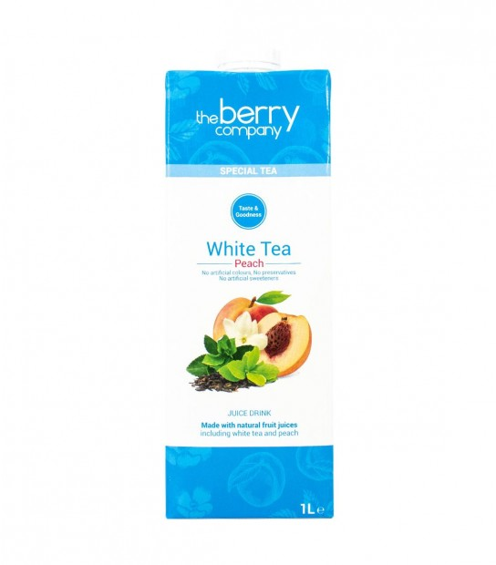The Berry Company White Tea Peach Juice - Delidrop