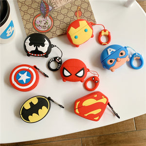 AirPods Cute 3D Cartoon Silicone Case cover For Airpod Pro