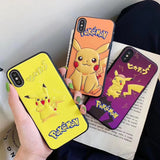 Cartoon PU Leather Embossed Phone Case For Apple iPhone 11 Pro X XS Max XR Soft TPU Back Cover for iPhone 7 8 Plus Cute Case
