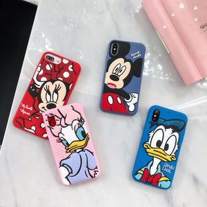 3D Cartoon Silicone Phone Case Cover For Apple iPhone 11 Pro X XS Max XR Soft Back Cover for iPhone 7 8 Plus Cute Lovely Case