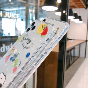 Cute Snoopy Phone Case For Apple iPhone 11 Pro X XS Max XR Soft TPU Back Cover for iPhone 7 8 Plus Cute Lovely Clear Case