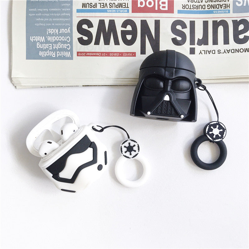 AirPods Cute 3D Cartoon Star Wars Silicone Case cover For Airpod 1/2