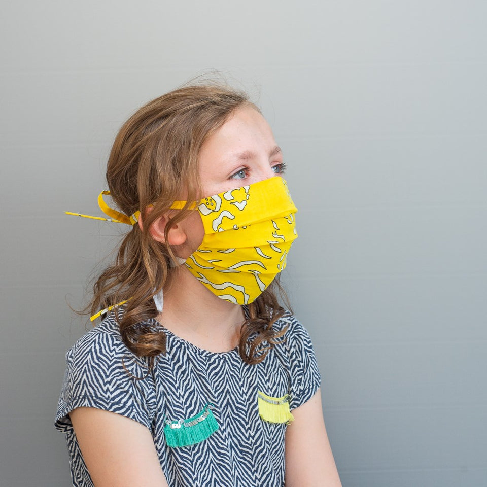 Handmade facemasks, 100% cotton