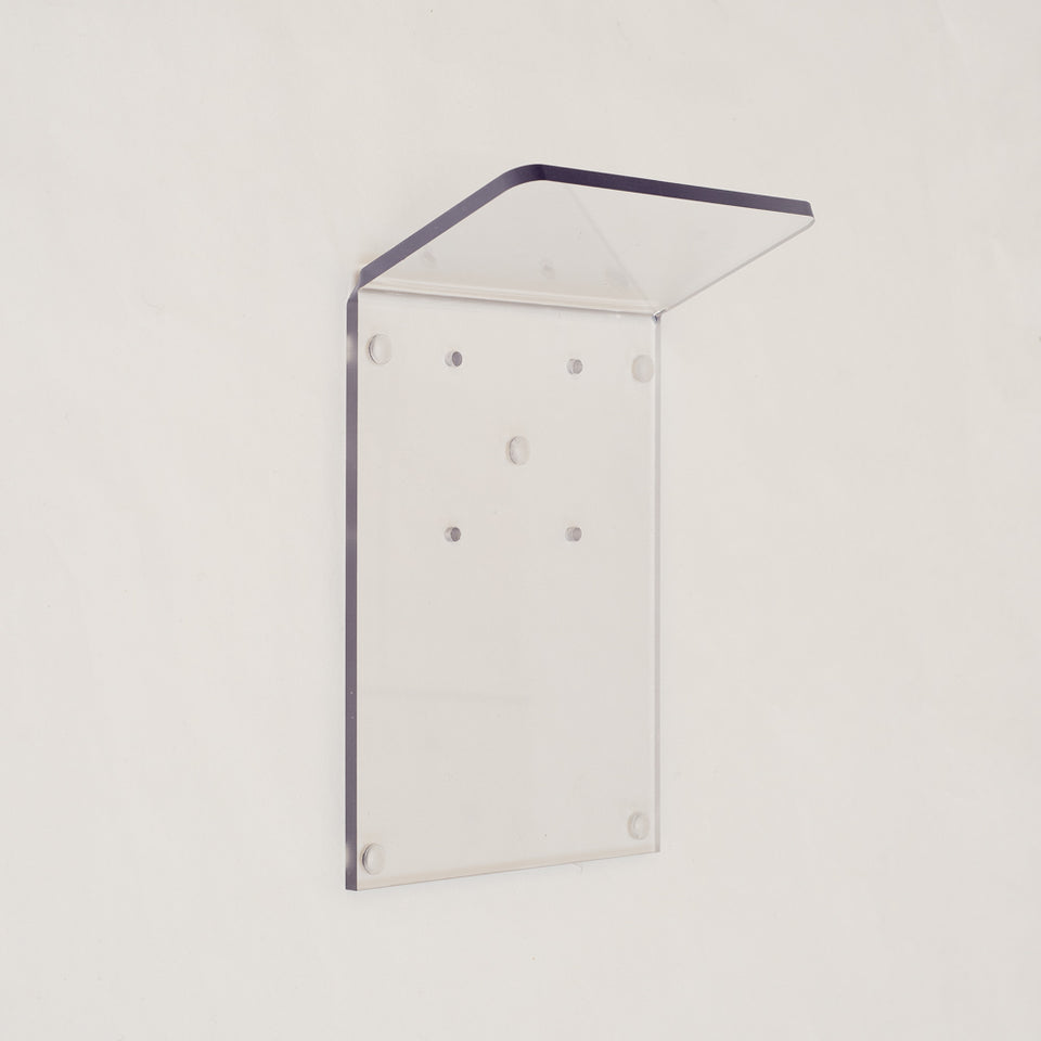 Beautyshield with hanging for storage