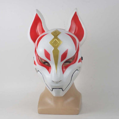Game Fortnite Related Products Fox Mask Mold Plastics Day Fox Half Face Cosplay Ball Party Mask