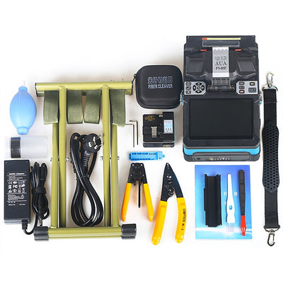 FS-60F 2019 New product FTTH Fiber Optic Welding Splicing Machine Optical Fiber Fusion Splicer