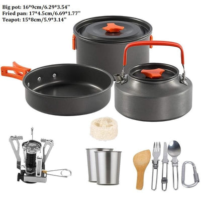 Outdoor Camping Cookware Set