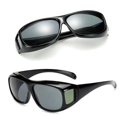 Unisex Night Vision Glasses + UV protection (Black)