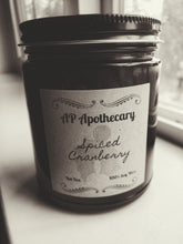 Load image into Gallery viewer, Spiced Cranberry Soy Candle